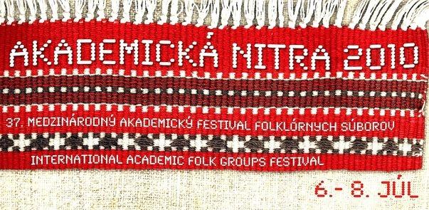 Akademická Nitra 2010 - banner